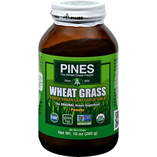 Pines International Wheat Grass Powder - 10 oz (Grass Powder Wheat Pines)