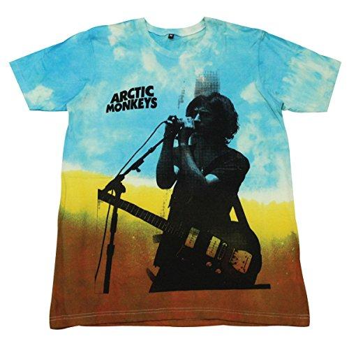 Arctic Monkeys T-Shirt tie dye music band rock alternative / GV-D34 size M