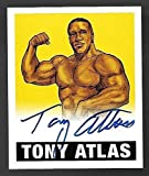2012 Leaf Originals Wrestling Yellow #TA1 Tony Atlas On Card Autograph #48/99