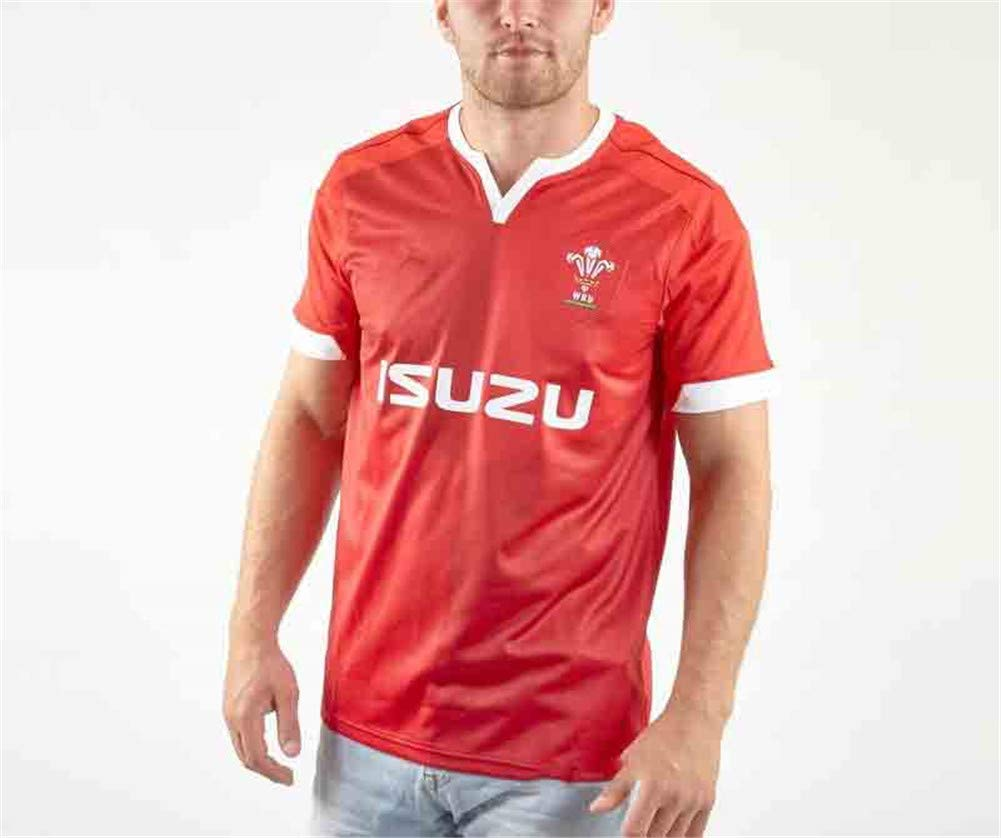 YHANS Welsh Camiseta del Polo de Rugby Jesery S-5XL, partidarios ...