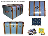 Hogwarts Speical Edition House Trunk- RAVENCLAW BLUE