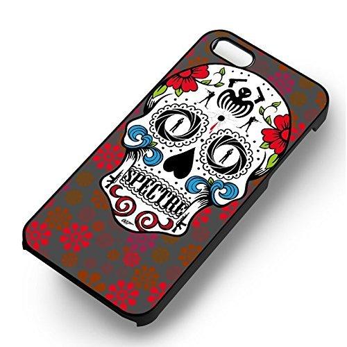 Spectre Skull Art pour Coque Iphone 6 et Coque Iphone 6s Case (Noir Boîtier en plastique dur) H5M5VK