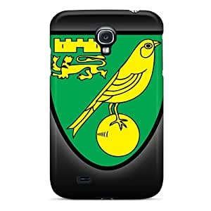 Tpu Fashionable Design Norwich City Rugged Case Cover For Galaxy S4 New