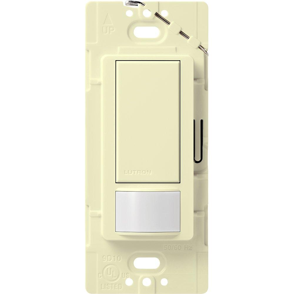 Lutron Maestro Motion Sensor switch, no neutral