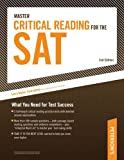 Master Critical Reading for the SAT, Peterson's, 0768927242