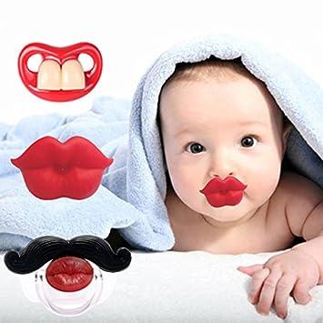 Amazon.com: 3 chupetes de labios para recién nacidos ...