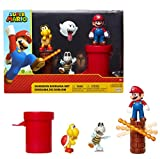Nintendo Super Mario Dungeon 2.5' Figure Multipack Diorama Set with Accessories