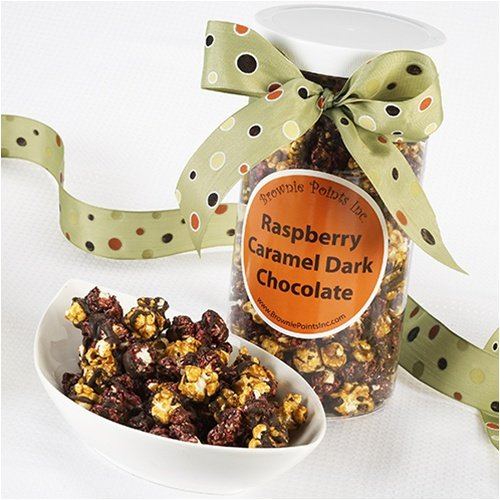 Posh Popcorn - Black Raspberry Caramel Dark Chocolate (Brownie Points Popcorn compare prices)