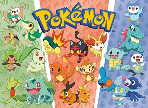 Buffalo Games - Pokemon - Partners: Grass, Fire, Water - 100 Piece Jigsaw Puzzle