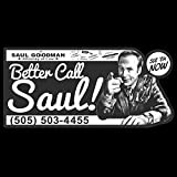 Better Call Saul Clear Vinyl Decal Sticker for