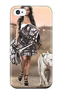 Fashion FiWaxOZ1884INeLB Case Cover For Iphone 4/4s(for A Walk) Sending Screen Protector in Free