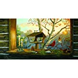 SunsOut Candlelight Vigil 300 pc Jigsaw Puzzle - Bird theme