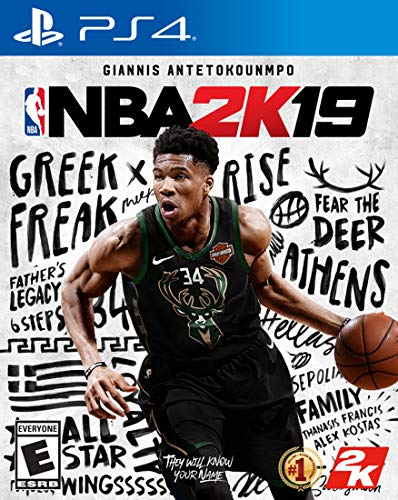 NBA 2K19 (PS4) (Best Basketball Game Ps4)