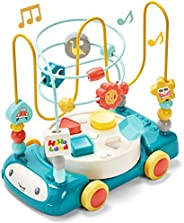 hahaland Bead Maze Shape Sorter Music Light Baby Toys 6 to 12-18 Months Baby Einstein Toddler Boy Girl Toys Ag