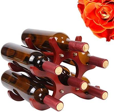 DC Wesley Estantería Creativo Europeo De Madera Maciza Estante De Vino Decoración Estante Botella De Vino Estante Estante De Vino Decoración De La Sala De Estar
