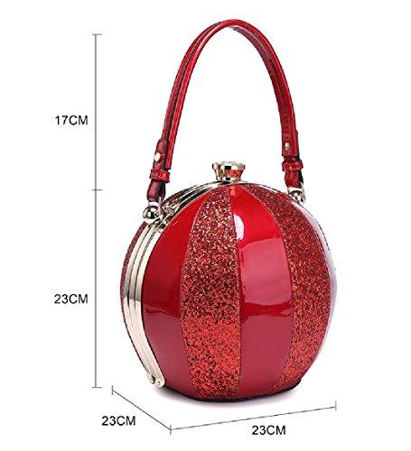 Handbag Clasp Gem Balloon MA34346 Shoulder Tote Bag Multi 1 Pink Ladies Women's Panel Glitter Handbag axSwnqXBIt