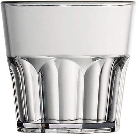 Garnet Minidrink - Juego de 6 vasos de plástico reutilizables ...