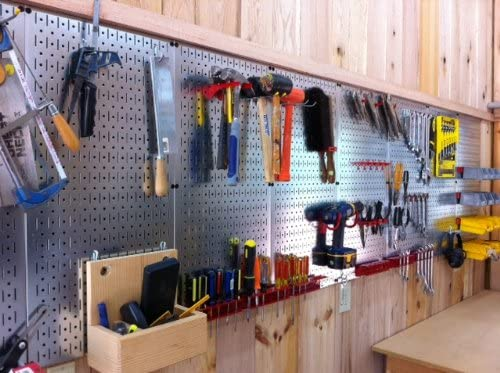 Galvanized Steel Pegboard Pack
