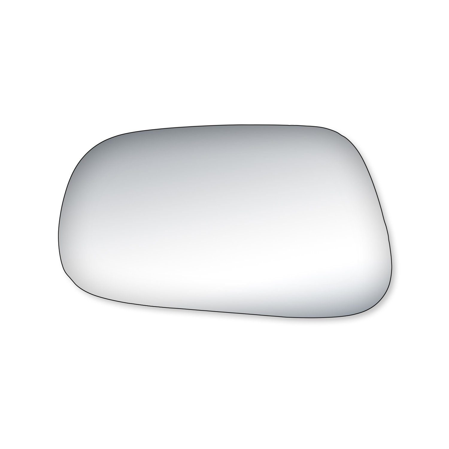 Fit System 99121 Toyota Corolla Driver/Passenger Side Replacement Mirror Glass