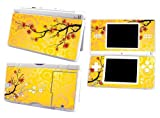 Bundle Monster Nintendo Ndsl Dsl Nds Ds Lite Vinyl Game Skin Case Art Decal Cover Sticker Protector Accessories - Yellow Floral