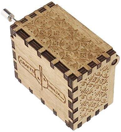 Creative-Idea Caja de Música Harry Potter Tema Grabado en Madera ...