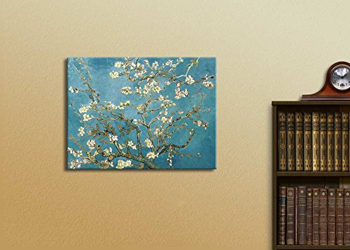 Vincent Van Gogh Print Almond Blossoms Home Kitchen Wall Decor Stretched and