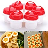 LiPing Food Grade Silicon Chicken Boiler Steamer Mini-wave Cooker Kitchen Tools + Brush (A)