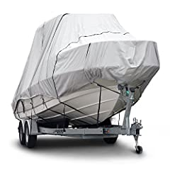 The Budge Sportsman 600 Denier Boat Covers, B-621-X6 provides all weather protection for your Hard Top / T-Top Boat. Guaranteed to provide superior protection to your boat, this cover provides ultimate marine grade protection. Waterproof to r...