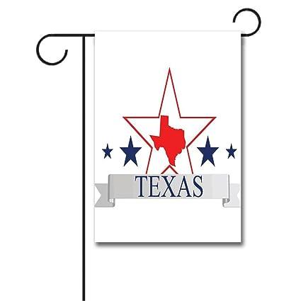 Amazon.com : WONDERTIFY Garden Flags Texas Star San Antonio Dallas on