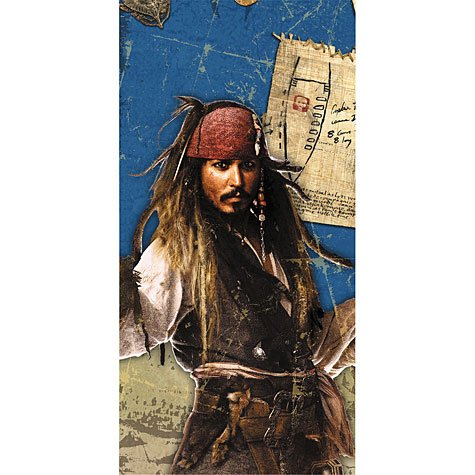 - Pirates of the Caribbean Plastic Table Cover