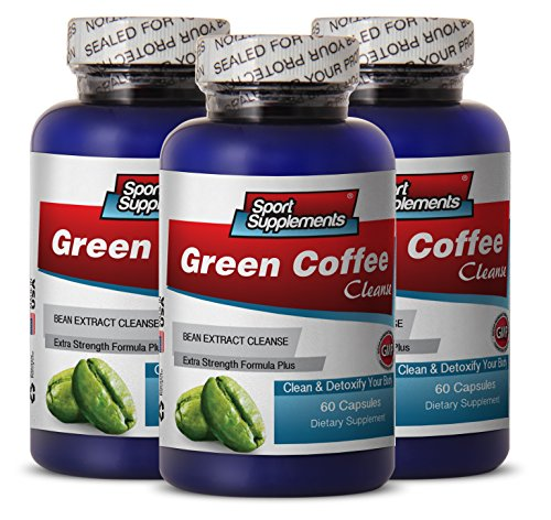 photo Wallpaper of Sport Supplement-Green Coffee   Green Coffee Cleanse 400mg   Pure Green-Black