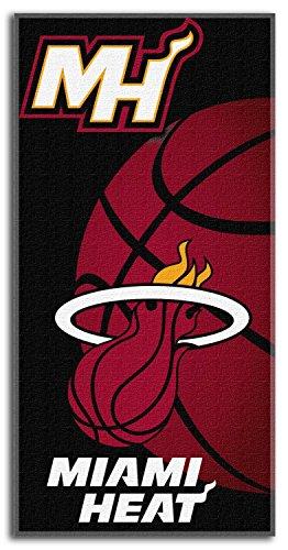 The Northwest Company NBA Miami Heat Emblem Beach Towel, 28 x 58-Inch by The Northwest Company
