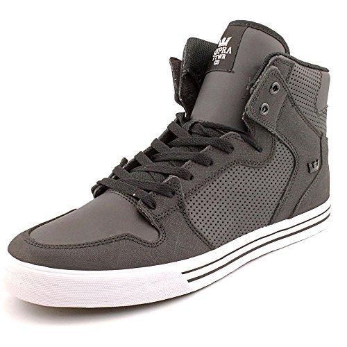 Supra Vaider S28058 Unisex - Erwachsene Sneakers Sportive Schwarz (nero - Bianco Bkw)
