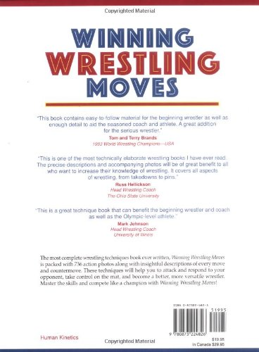 Winning Wrestling Moves: Mark C Mysnyk, Barry Davis, Brooks