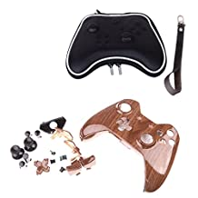 MagiDeal Housing Shell Case Full Set Buttons Kit +Hard Case Carry Bag for Xbox One