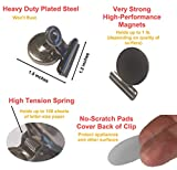 Strong Magnetic Clips –Heavy Duty Metal