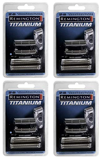 4x Shaver Screens & Cutters for Remington Microscreen 2 TCT Shavers | SP-69 ... ()