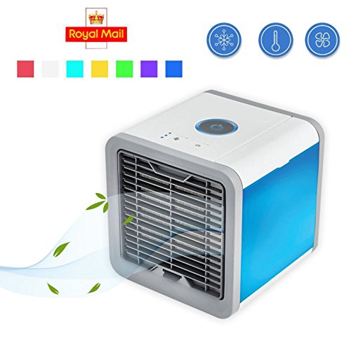 Homkoo Moist Clean Air Cooler Personal Space Small Air Conditioner 3-IN-1 Cooler,Humidifer & Purifer by Homkoo