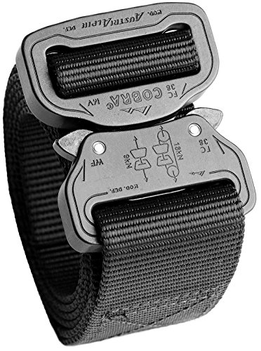 (Cobra Quick Release Buckle Men's Cobra Belt – 1.5