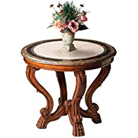 Butler specality company BUTLER 5026070 MABEL FOSSIL STONE FOYER TABLE