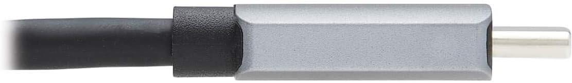 DisplayPort 1.4 Thunderbolt 3 Compatible Cable Adapter USB C to DP M//M Tripp Lite USB-C to DisplayPort Adapter Cable 3 ft. U444-003-DP8SE 8K UHD