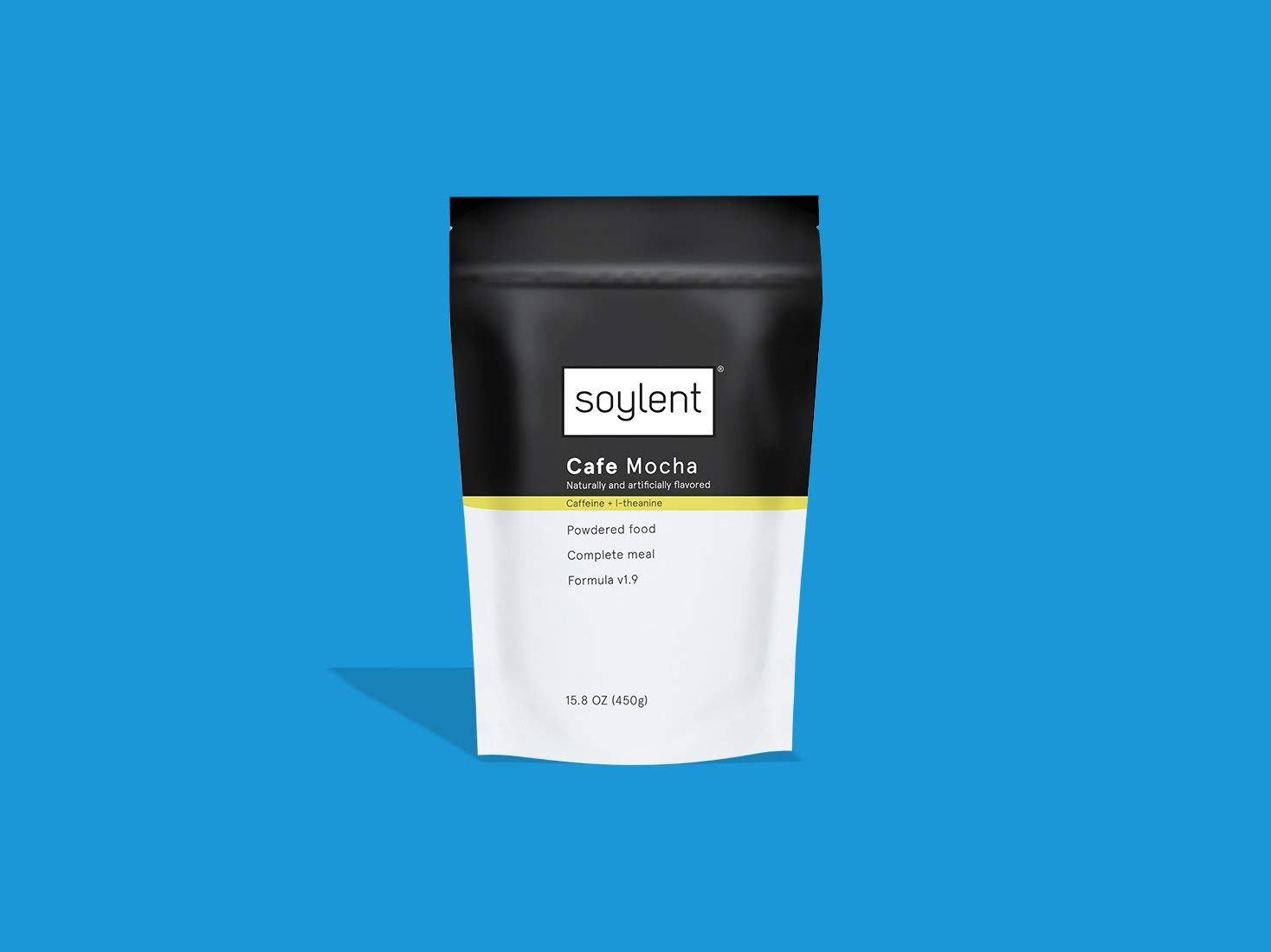 Soylent Nutritionally Complete Meal Replacement Powder, One Week (35 meals), Cafe Mocha