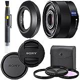 SonySonnar T FE 35mm f/2.8 ZA Lens with AOM Pro Kit. Includes: UV Filter, Circular Polarizing Filter, Fluorescent Day Filter, Sony Lens Hood, Front & Rear Caps - International Version