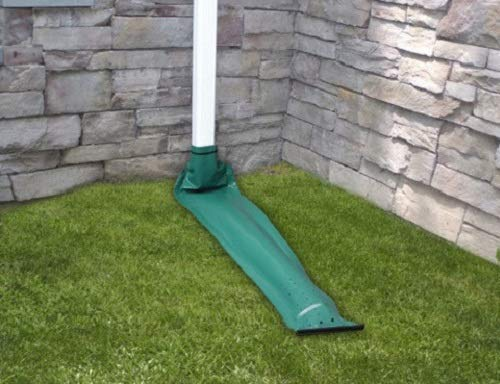 Frost King DE46 46'' x 8.5'' Green Automativ Roll Up Downspout Extender - Quantity 2 by Frost King
