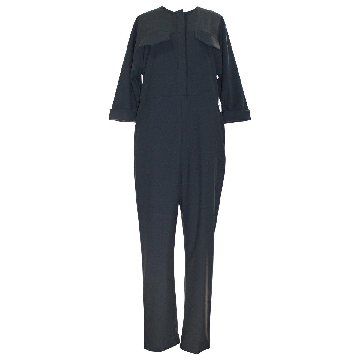 c50780a6c5ae Amazon.com  Topshop Boutique Tailored Black Jumpsuit  Clothing