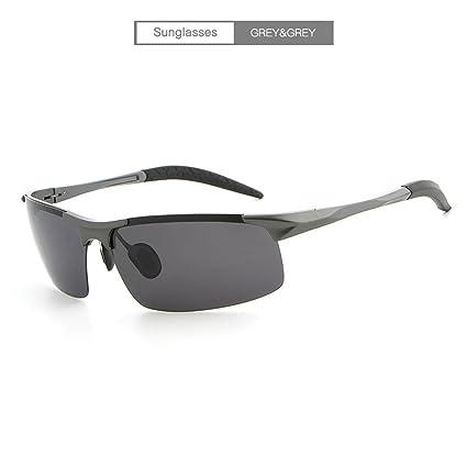 DYEWD Gafas de sol gafas de sol de los hombres, Espejo con chófer, gafas