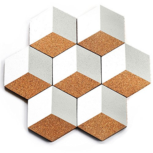 Moon Shipping CORK COASTERS GIFT product image