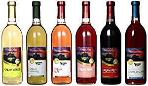 Armon New York Cream Wine Selection Mixed Pack, 6 x 750 mL Wine