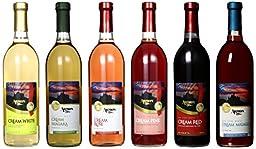 Armon New York Cream Wine Selection Mixed Pack, 6 x 750 mL Wine