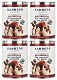 Sanders Milk Chocolate Hot Fudge Dessert Topping, 42-Ounce Containers (Pack of 4)